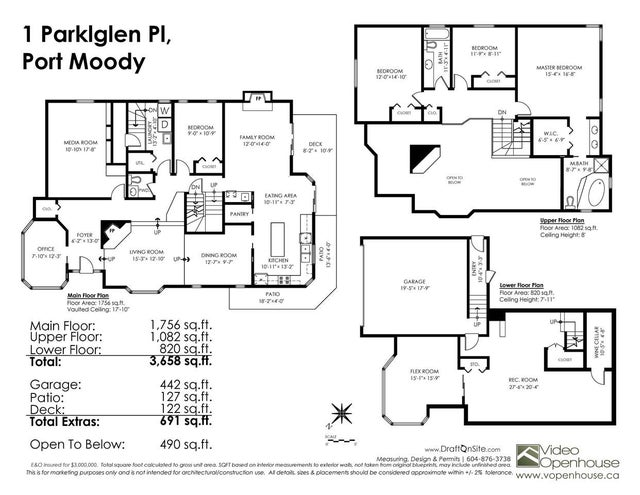 1 PARKGLEN PLACE - Heritage Mountain House/Single Family for sale, 5 Bedrooms (R2325025) #20
