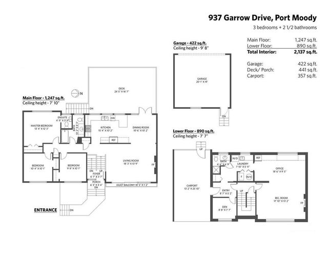 937 GARROW DRIVE - Glenayre House/Single Family for sale, 4 Bedrooms (R2412911) #20